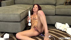 Alyssa Branch rolls around waiting for dick to grind down upon