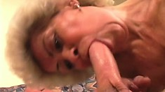 Mature vixen with hairy kitty gets more fucking than she intended earlier