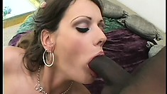 Sex-yearning Amber loves to get her tight muff stuffed with a dildo