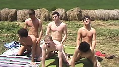 Slutty country gents are having fantastic and intense ass pounding