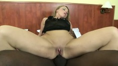 Suzy loves big black dicks and Joachim gives her one up her butthole