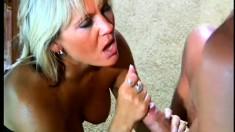 Dominant babe with a foot fetish enjoys some freaky hardcore fun