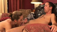 Darien Ross gets himself a lusty Milf who is a passionate fucking partner